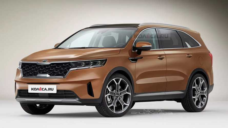 2021 Kia Sorento Rendered To Imagine Upcoming Crossover Without Camo