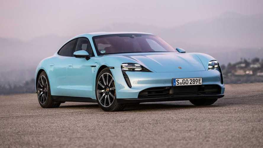 """""""Eski"""" Porsche Taycan modellerine güncelleme geliyor"""