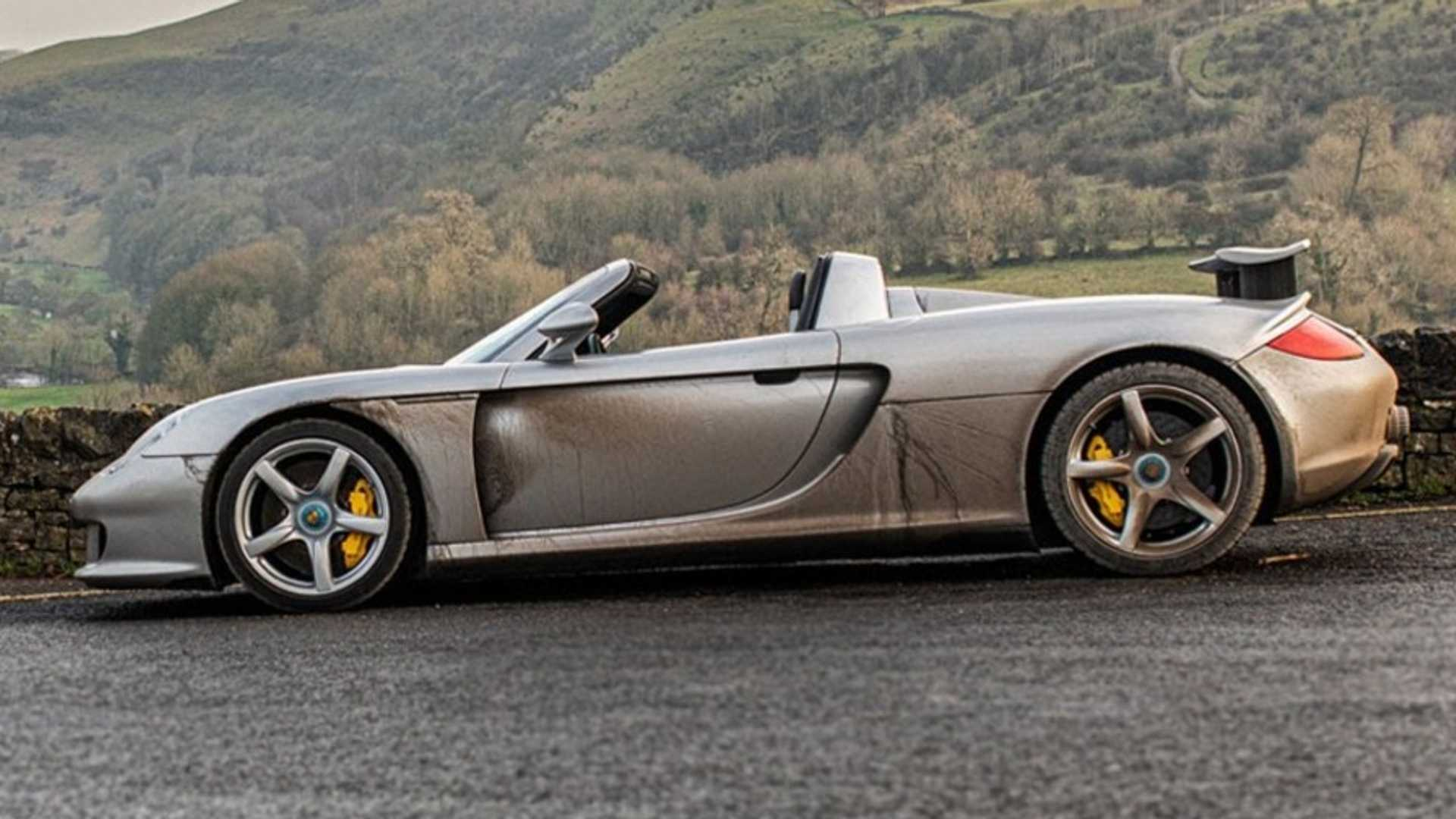 67,000-mile Porsche Carrera GT shows cars are meant to be driven