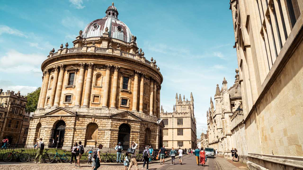 Radcliffe Camera, Bodleian Library, Oxford University UK