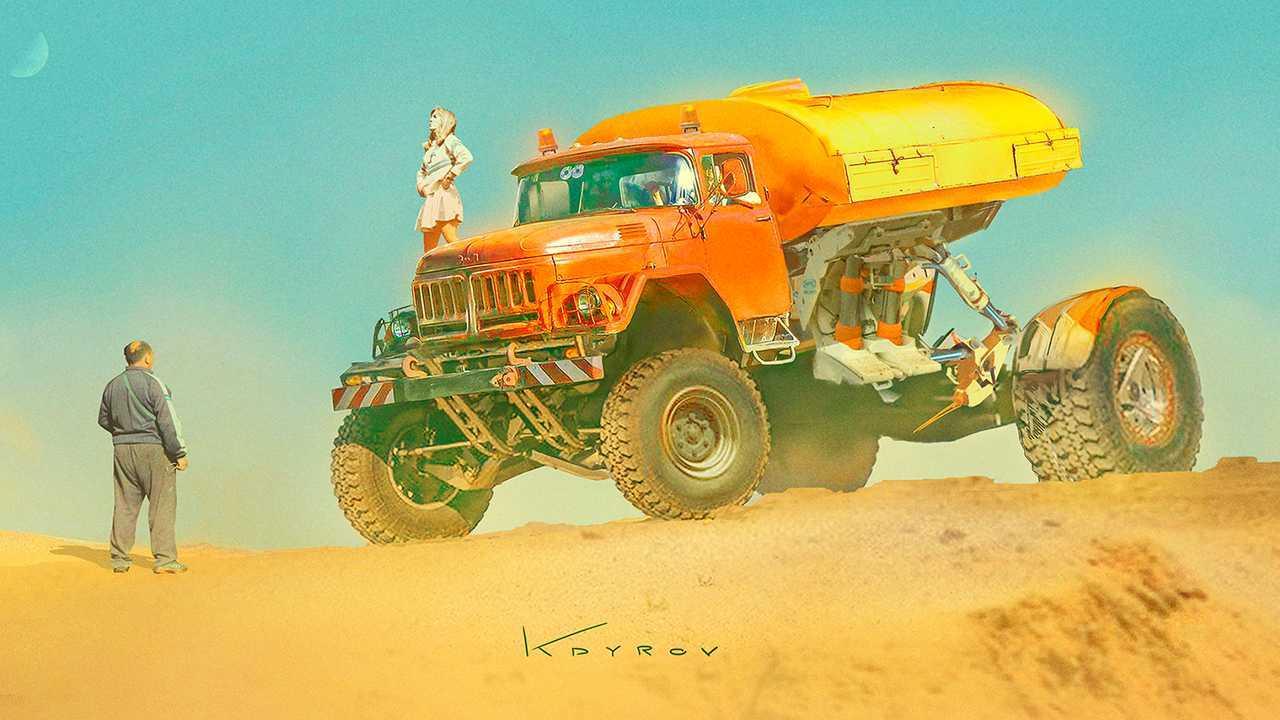 Апокалиптические машины Данияра Кдырова