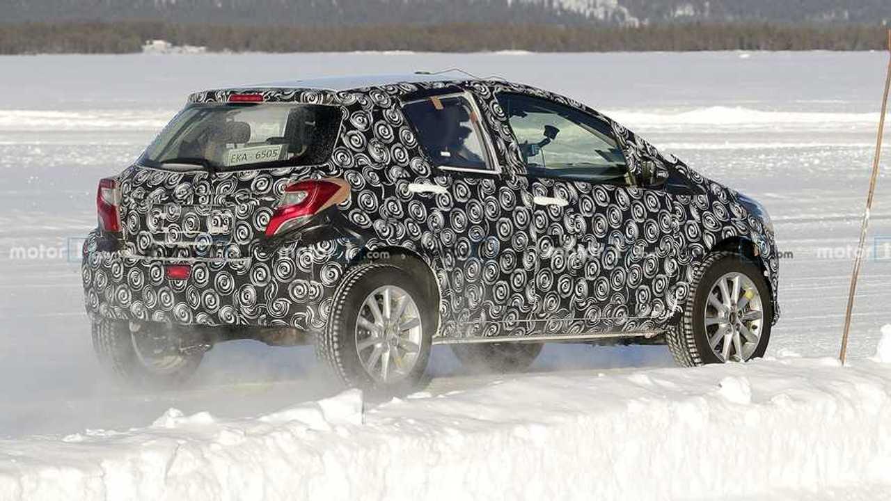 Toyota SUV urbano, fotos espía
