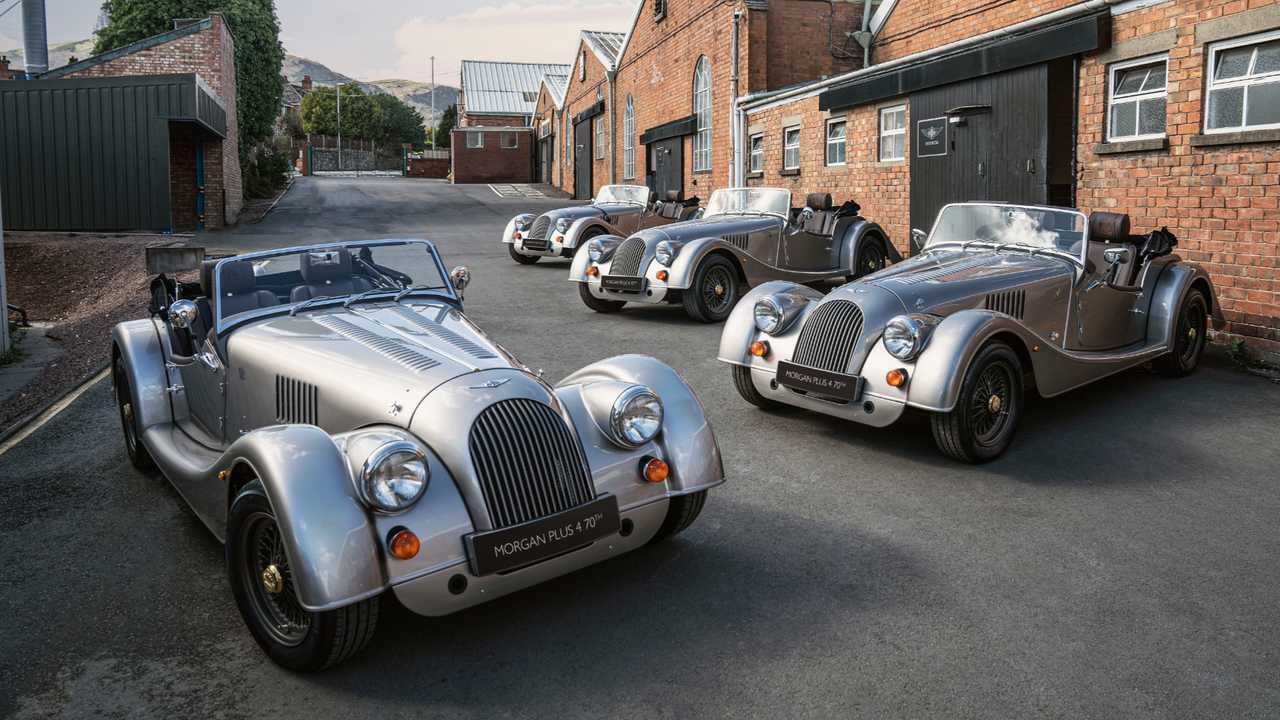Morgan Plus 4 edición 70 Aniversario