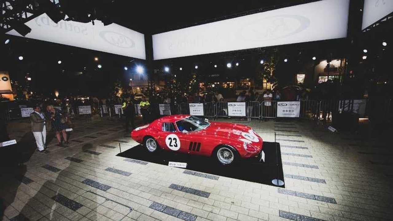 1962 ex-Phil Hill Ferrari 250 GTO sells for world record $48.4m!