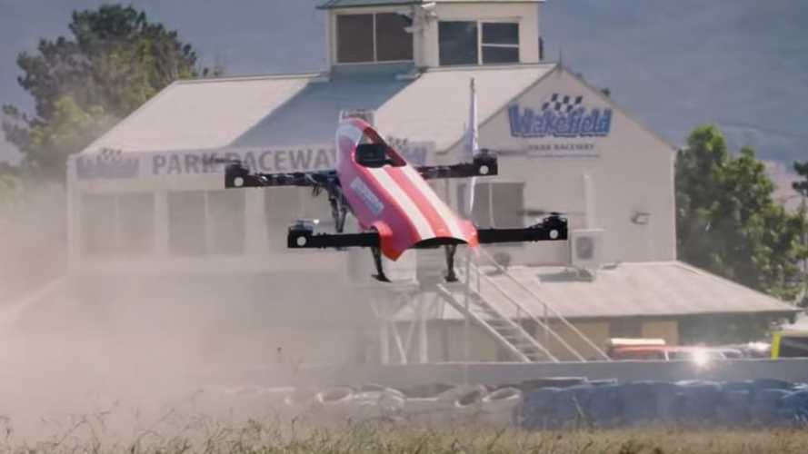 Airspeeder Flying Electric Car Race Closer To Reality Due To Massive Investment