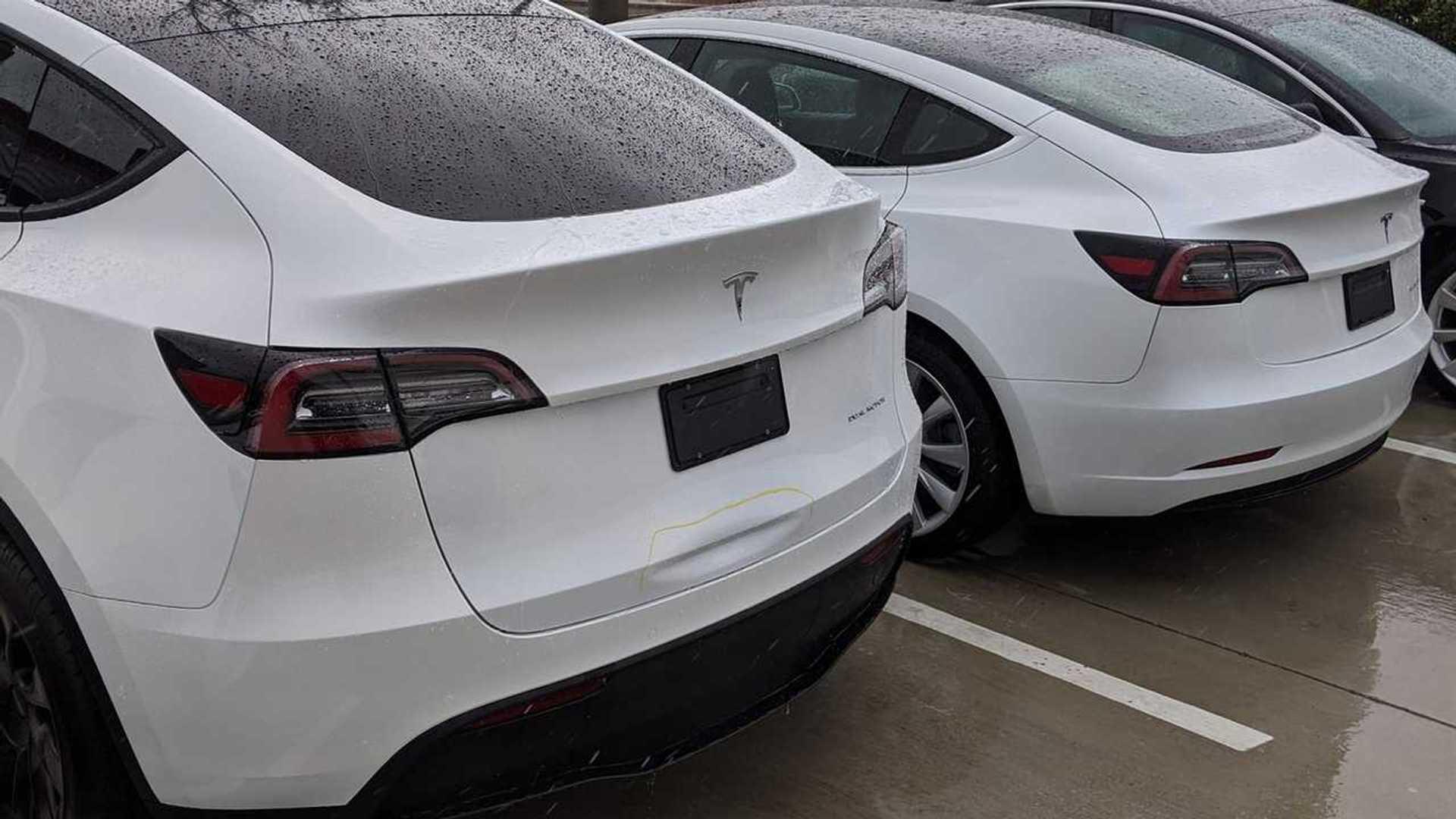 Tesla Model Y Design Flaw: First Dent Discovered On Undelivered Unit