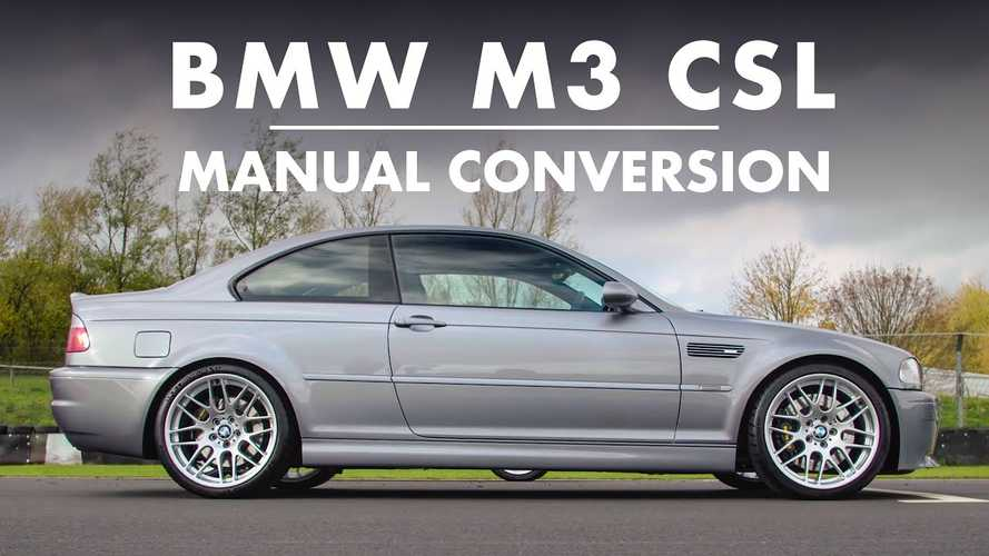 BMW M3 CSL with manual gearbox is a purist's delight
