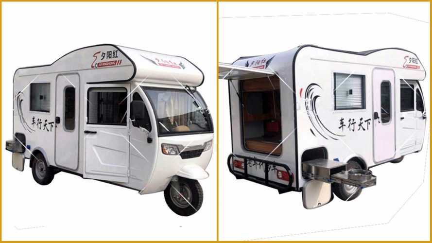 This Three-Wheeled Electric RV Could Be Perfect For Self-Isolation