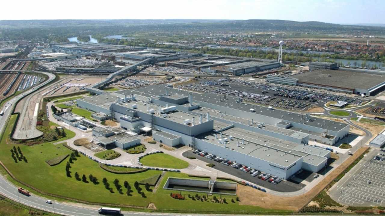 PSA Poissy usine