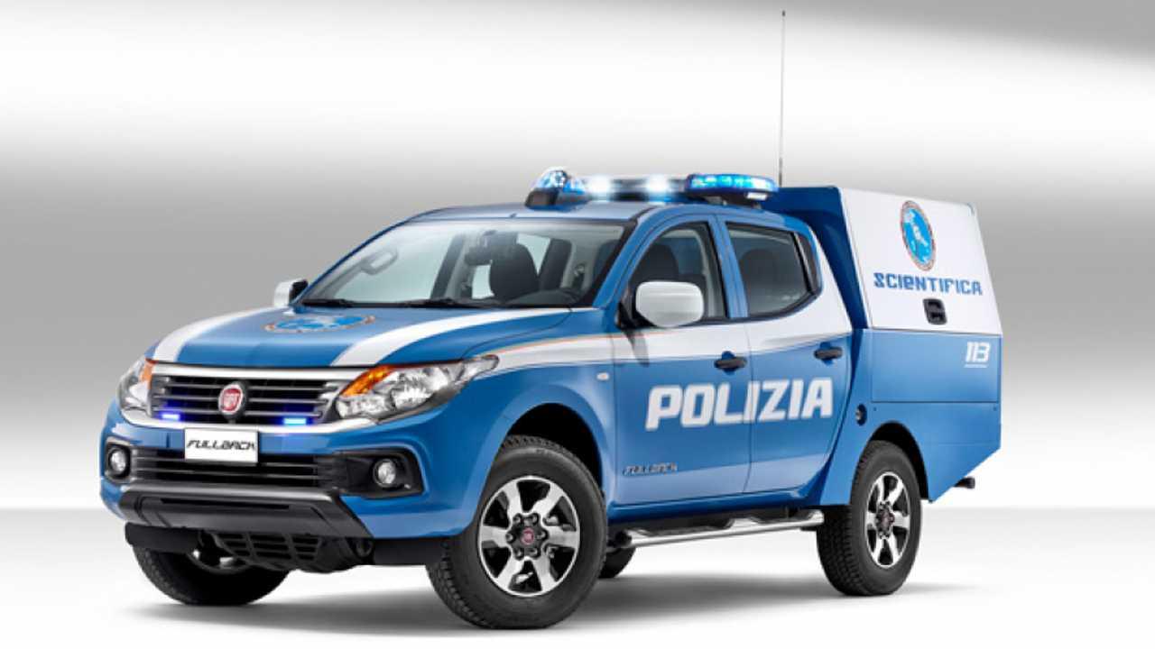 Fiat Fulback, i CSI italiani arrivano in pick-up