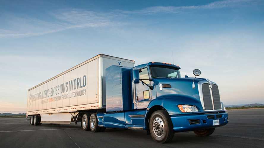 Toyota, il primo camion a idrogeno