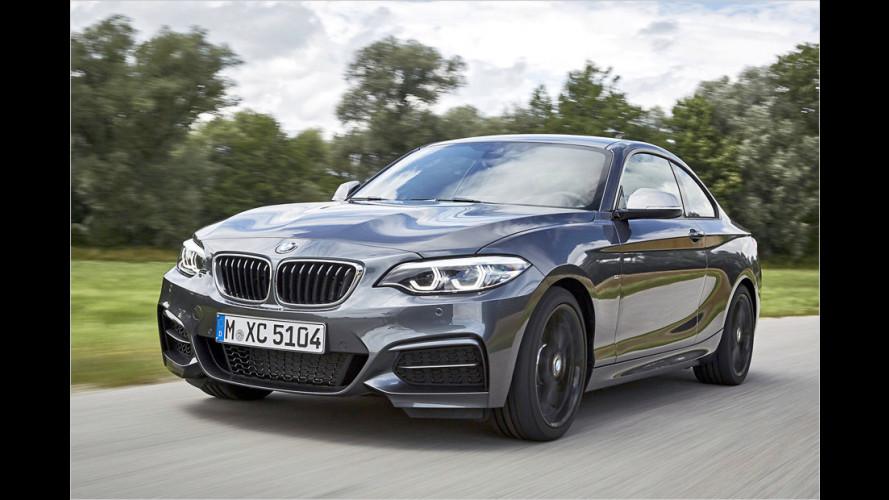 Wir testen das leicht überarbeitete BMW M240i Coupé