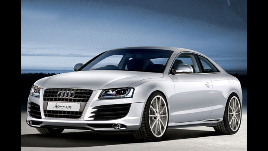 Starkes Gesicht: Hofele verpasst dem Audi A5 Lamellen