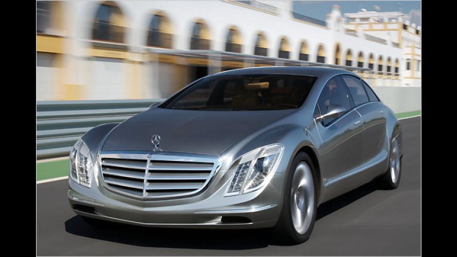 Futuristisch: Laser für mehr Fahrkomfort im Mercedes F 700
