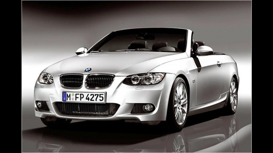 BMW bringt M-Paket für das 3er-Cabrio und die Limousine