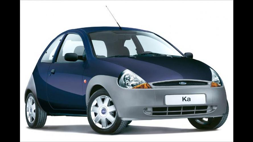 Blauer Student: Ford Ka für unter 8.000 Euro