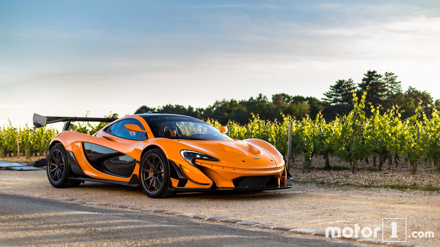 "PHOTOS - La McLaren P1 LM ""LM04"" ou l'orange mécanique"