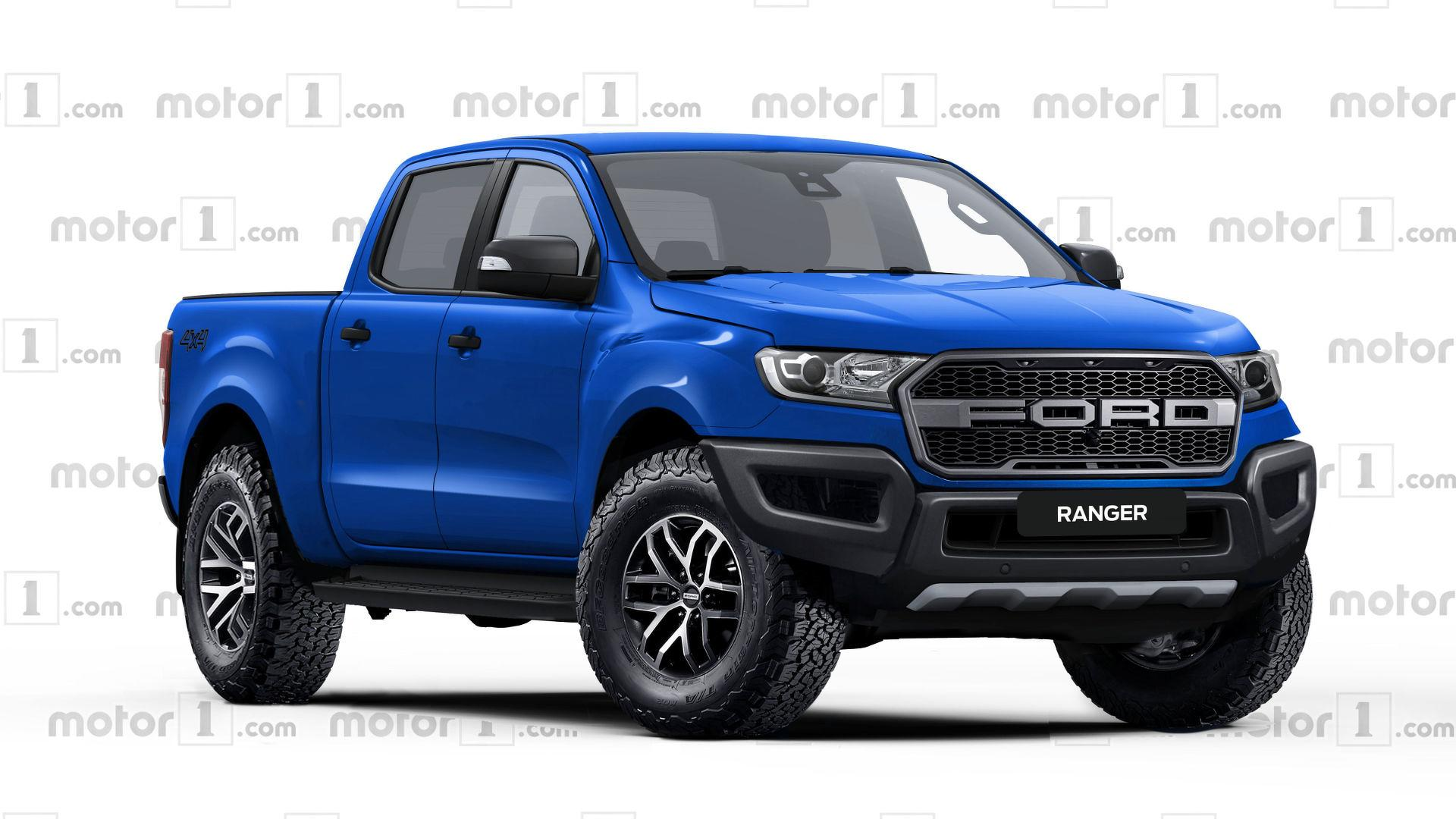 Ford ranger raptor rendered ready to rival colorado zr2