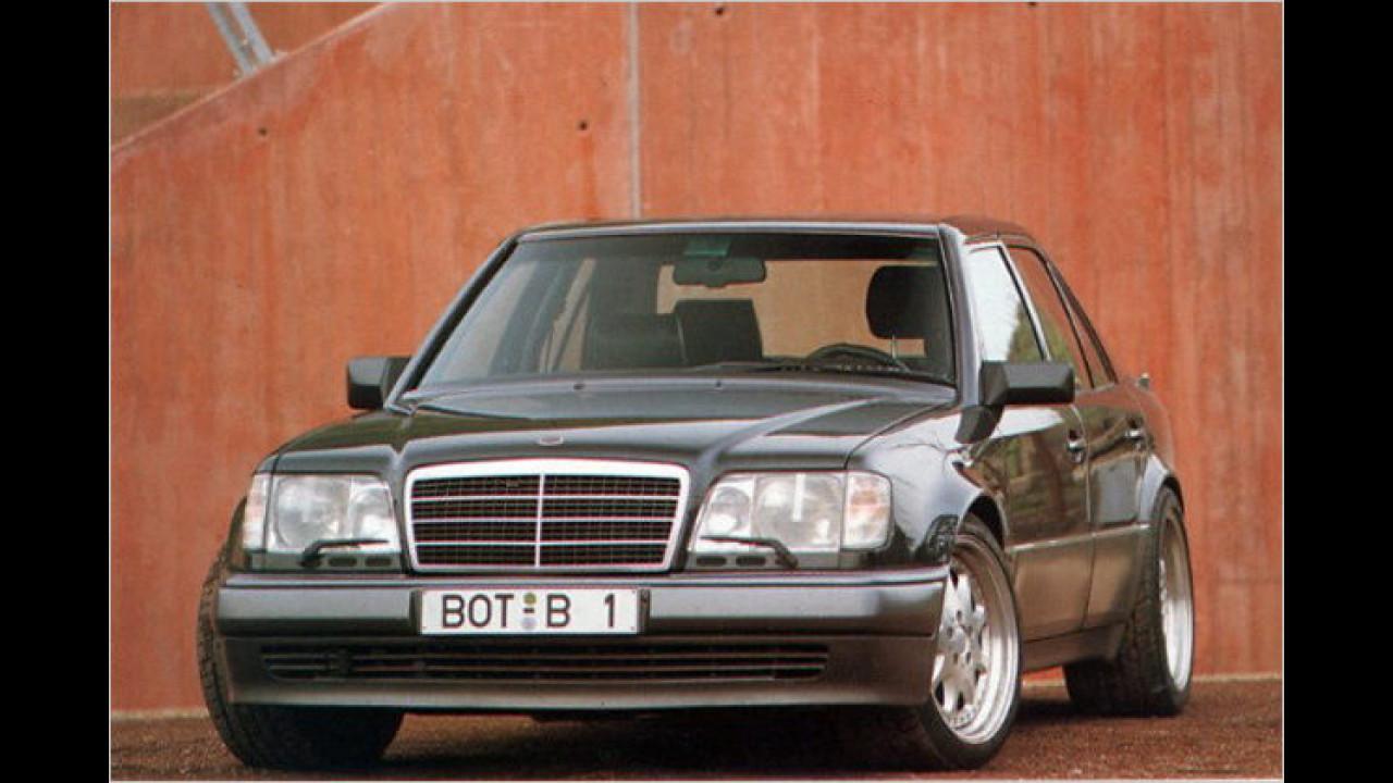 1993: E-Klasse mit über 500 PS