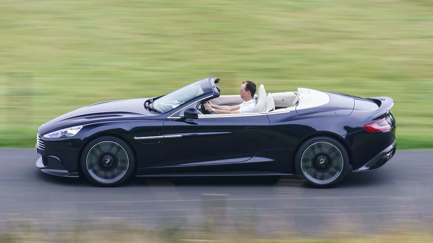 Aston Martin Vanquish S Volante First Drive The Final Encore - 2018 aston martin vanquish convertible