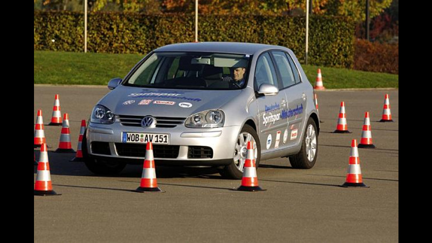 Spritspar-Meisterschaft: VW Golf beweist Sparpotential
