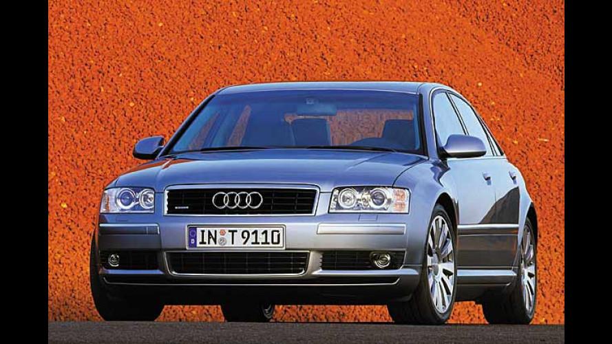 Audi A8 4.2 quattro (2003) im Test: Luxuriöse Leichtbau-Limousine