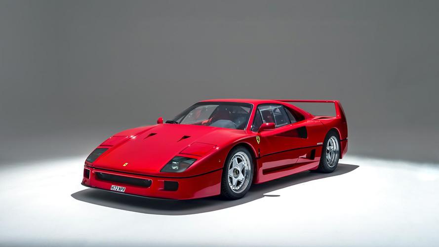 10 cosas que no sabes del Ferrari F40
