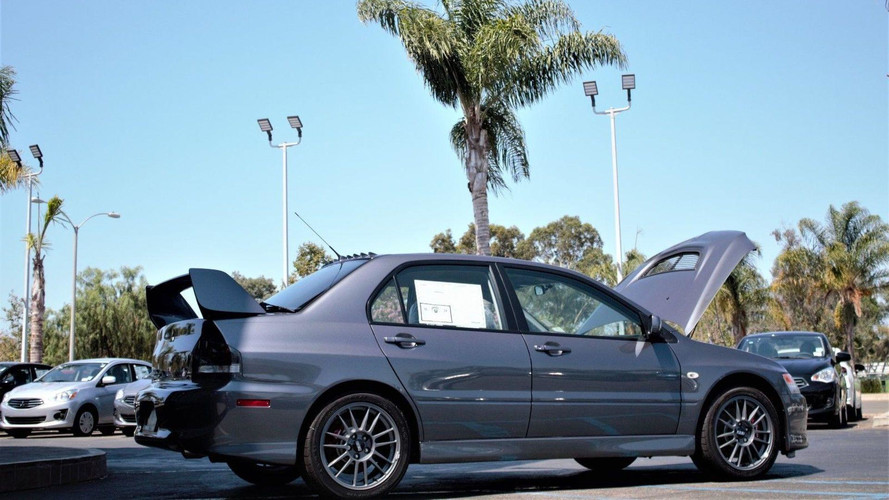 Brand New Mitsubishi Evo IX Sells For Nearly $138K