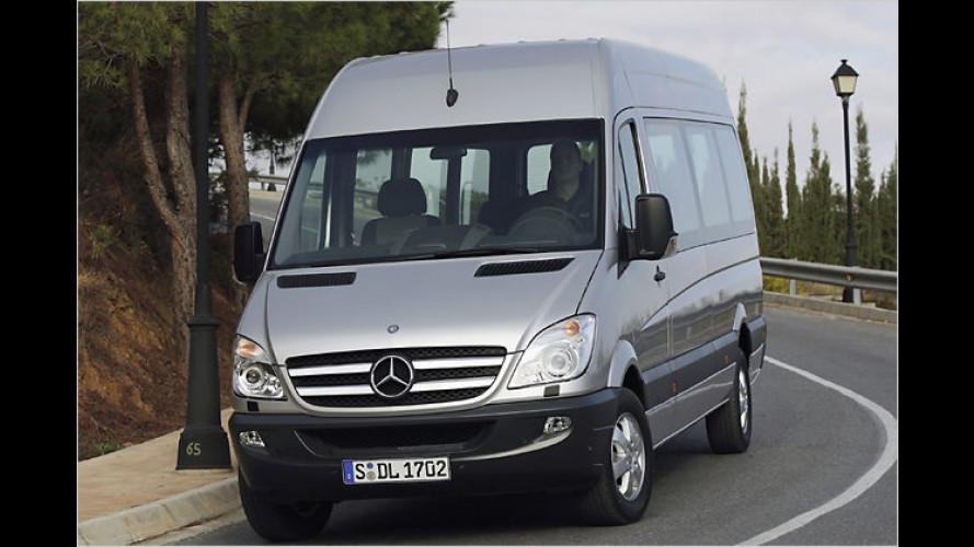 Mercedes-Benz Sprinter ab sofort mit Eco-Start erhältlich