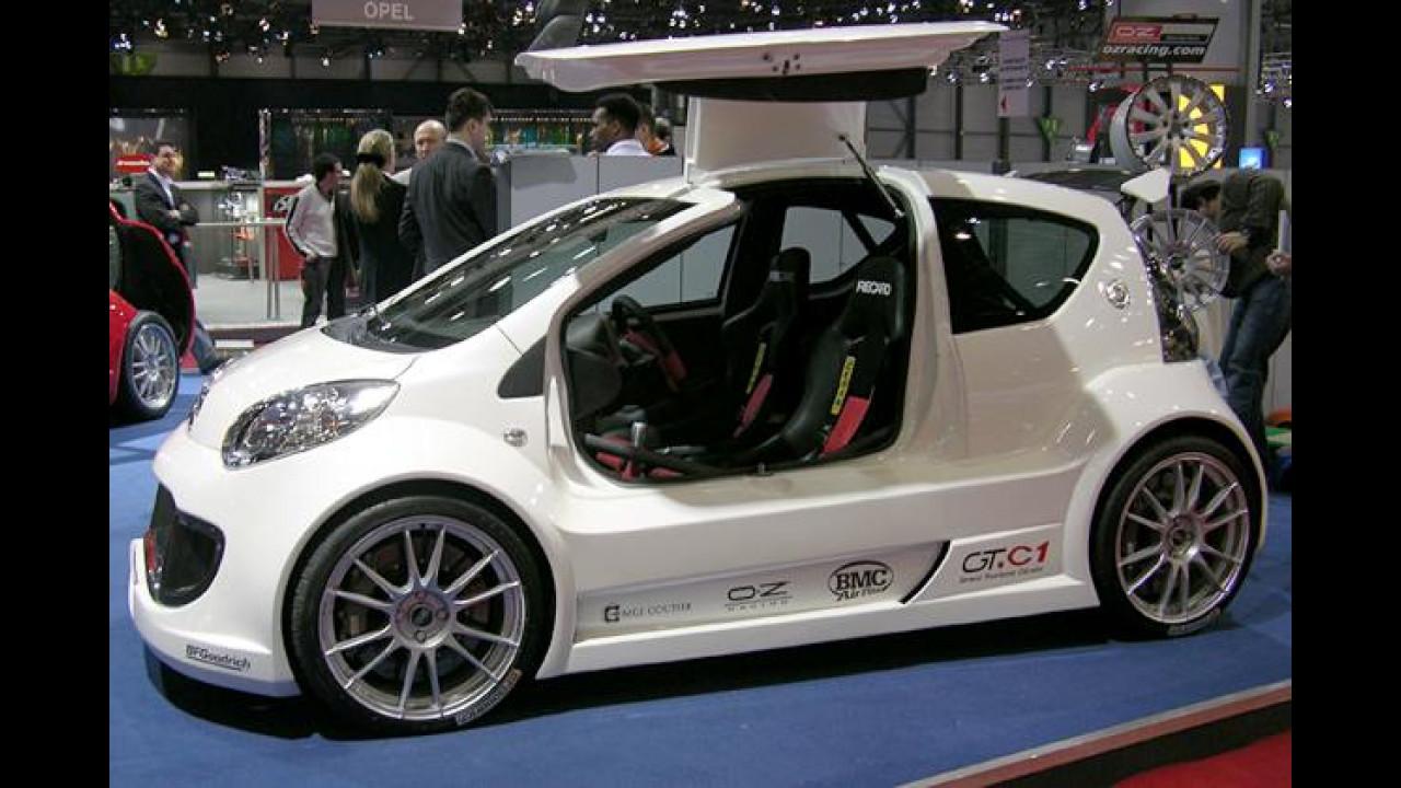 Sbarro Citroën GT.C1: Kleinstwagen für Rennfahrer