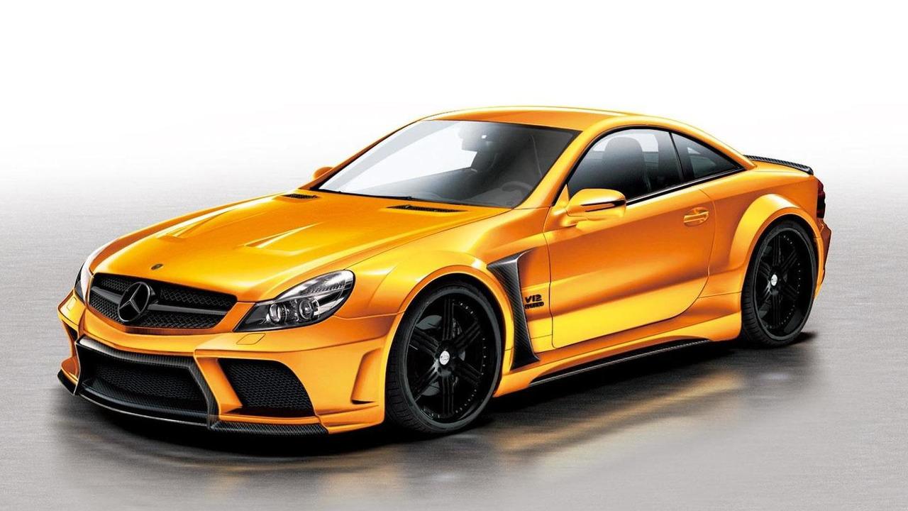 Veilside Black Fortune for Mercedes-Benz SL-Class, 1600, 13.01.2012