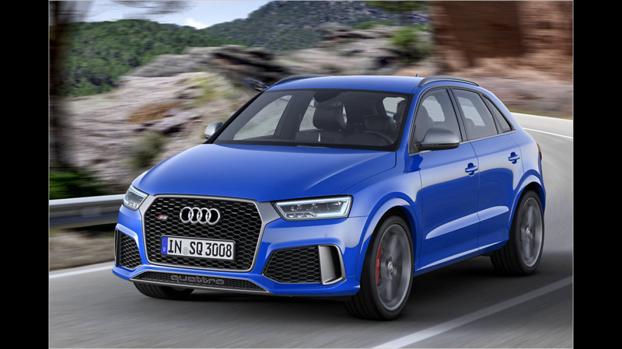 Audi RS Q3 performance: 4,4 Sekunden