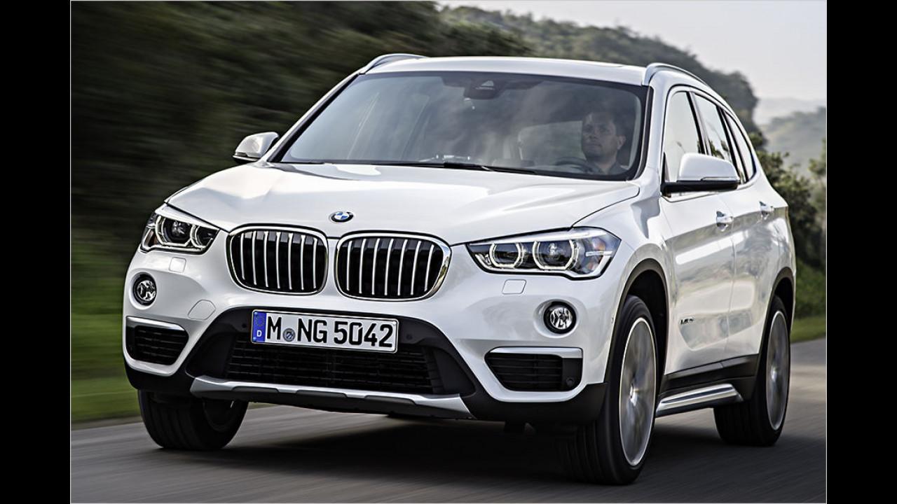 BMW X1: 14.129 Neuzulassungen