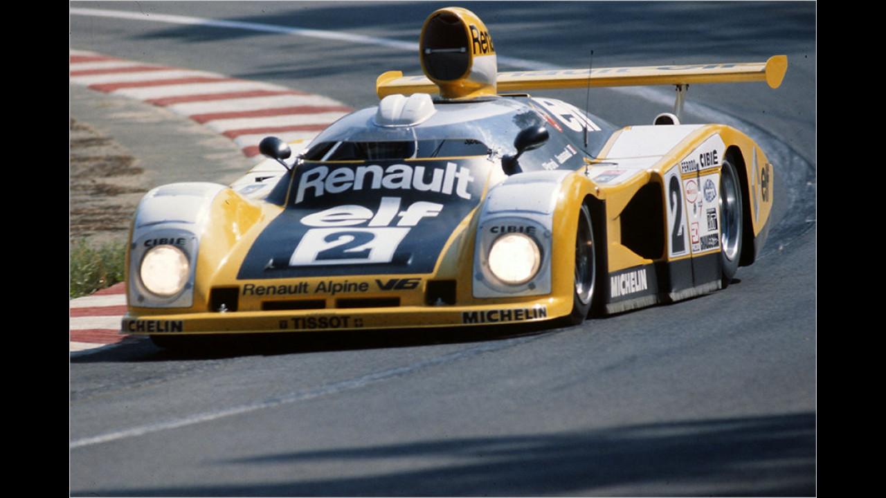 Alpine A442 triumphiert in Le Mans