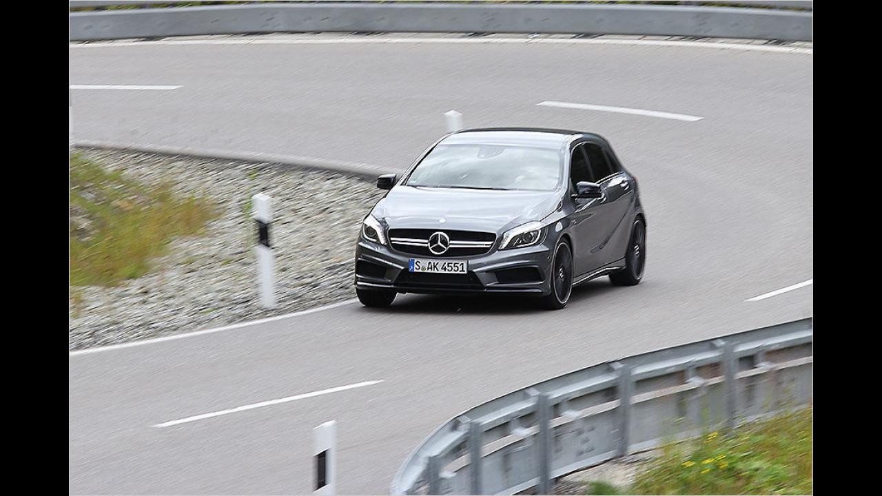 Mercedes-AMG A 45: 381 PS