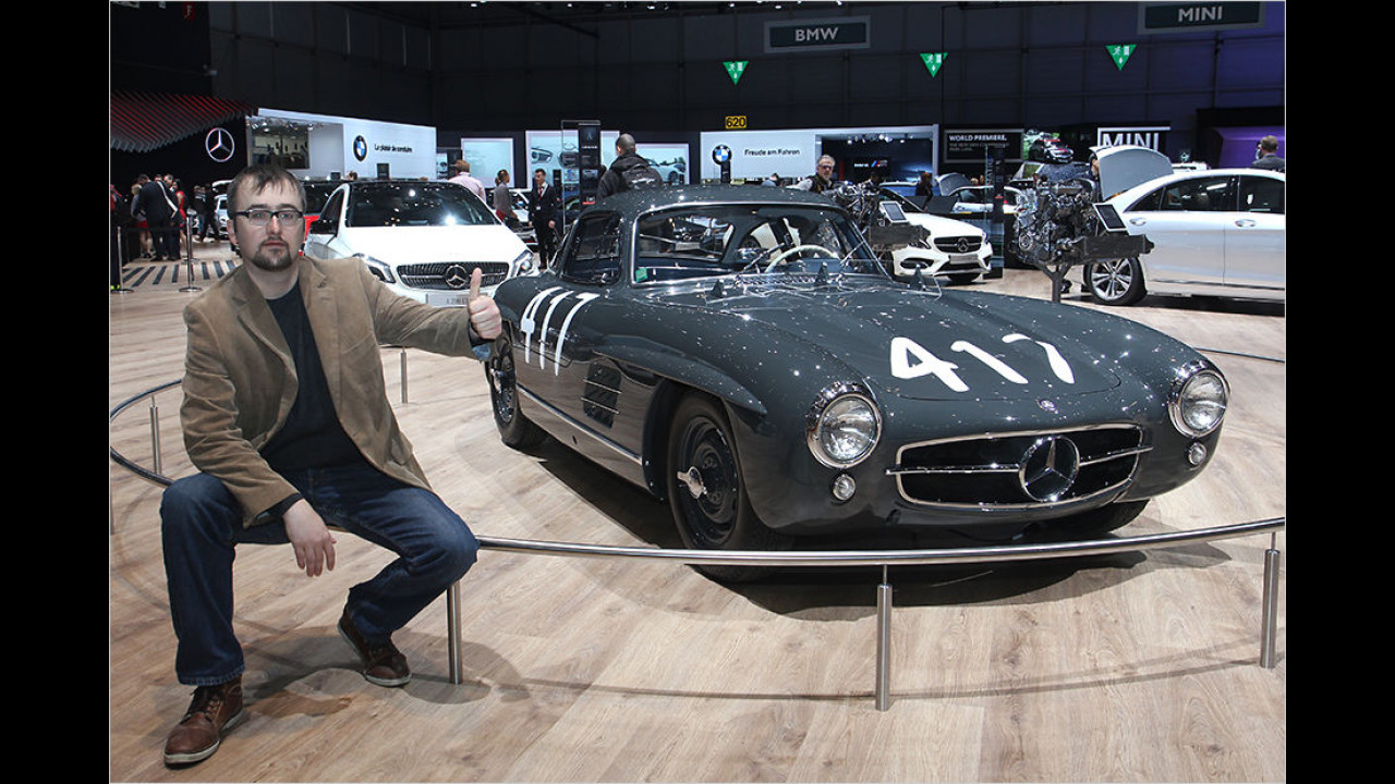 Top: Mercedes 300 SL (1955)