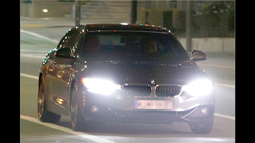 Ungetarnt erwischt: BMW 4er