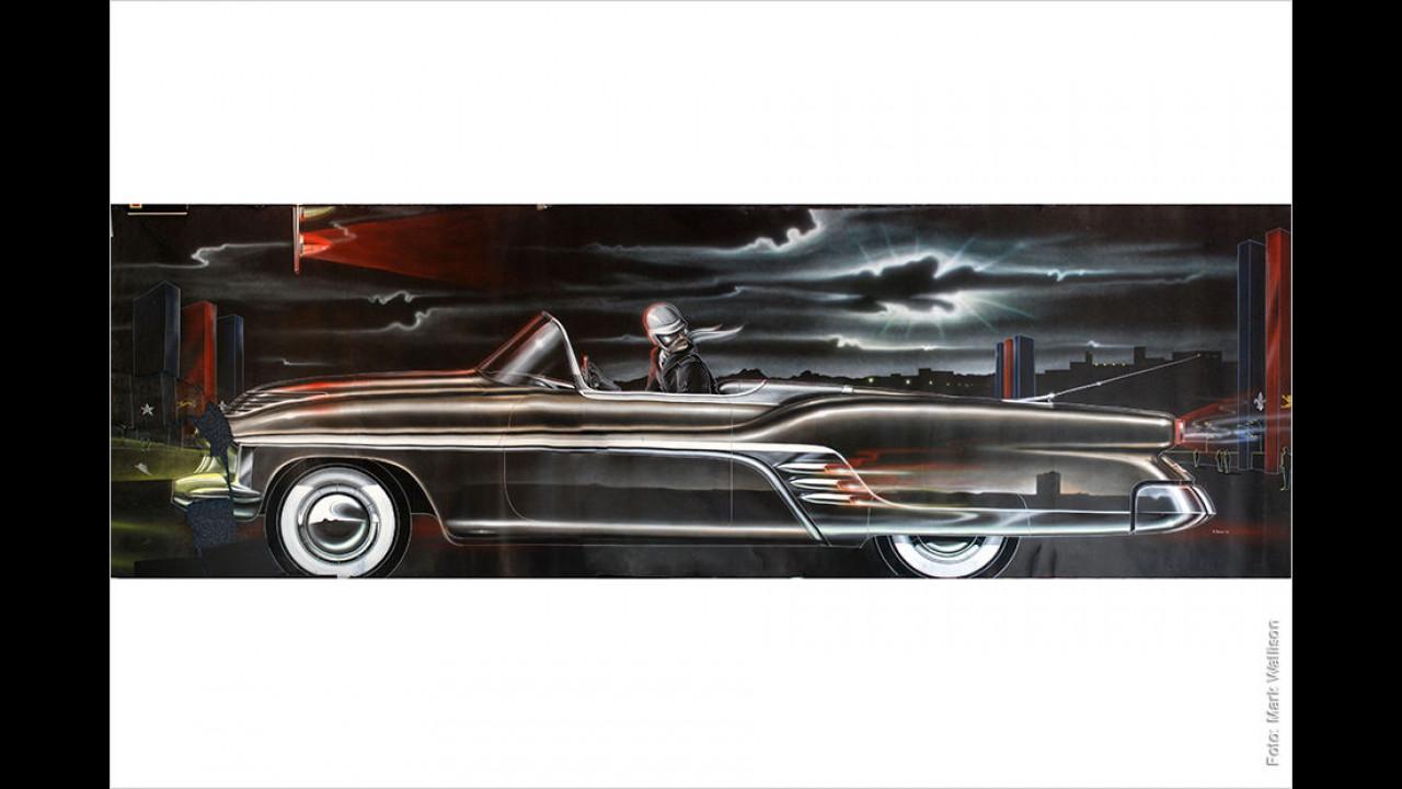 Carl Renner: Cadillac Convertible Concept Car (1951)