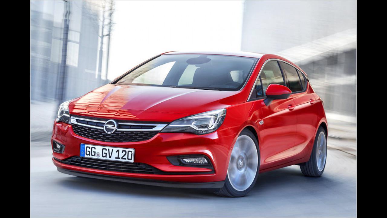 Platz 5: Opel Astra