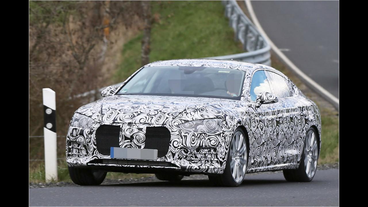 Erwischt: Audi S5 Sportback