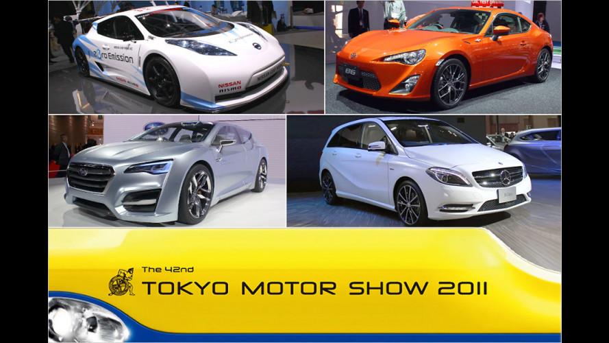Tokyo 2011: Die Highlights