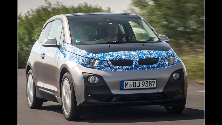 Angetestet: Die erste Ausfahrt mit dem BMW i3