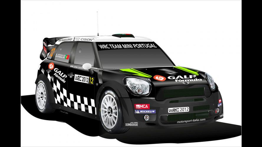 Mini mit Problemen bei der Rallye-Weltmeisterschaft