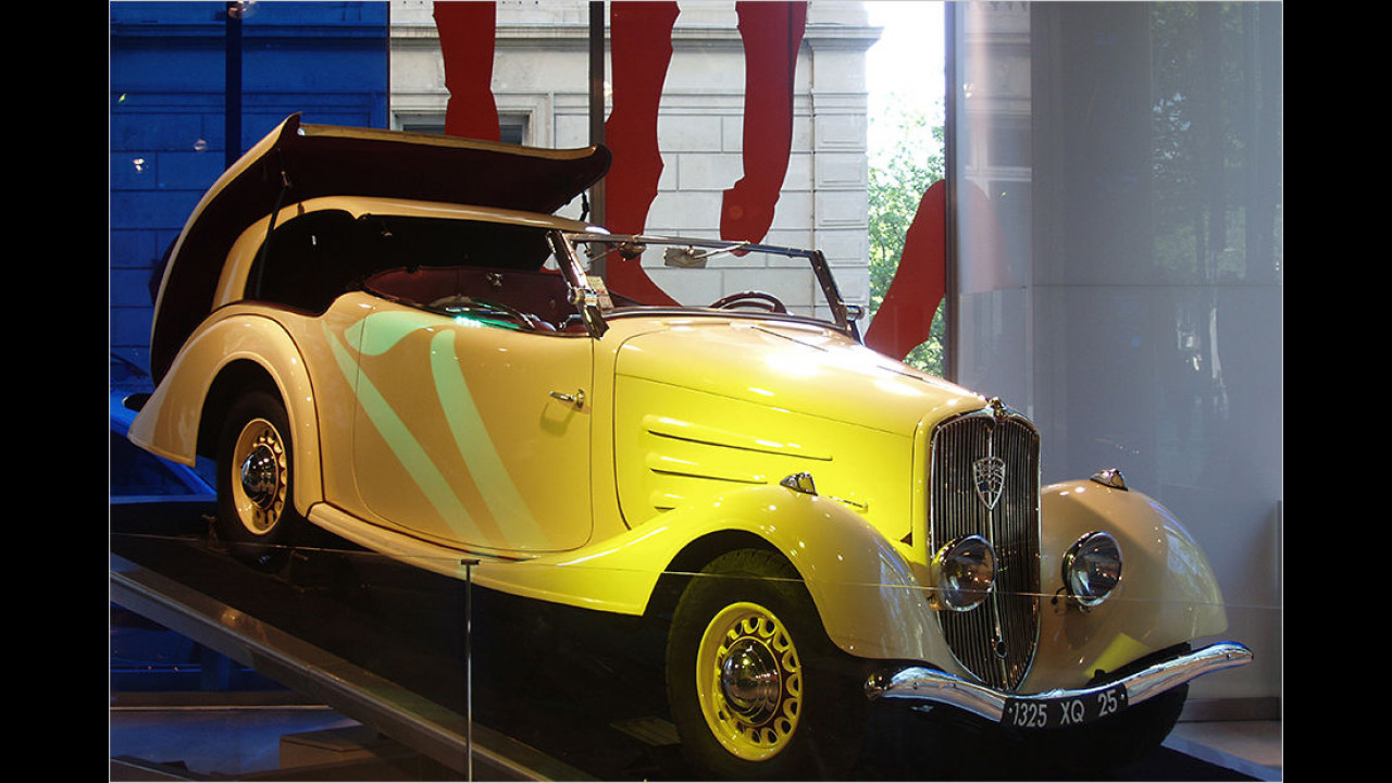 1934: Peugeot 401 Eclipse
