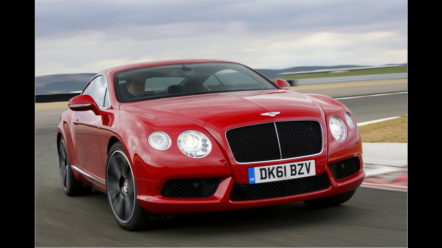 Bentley Continental GT: (take) over easy
