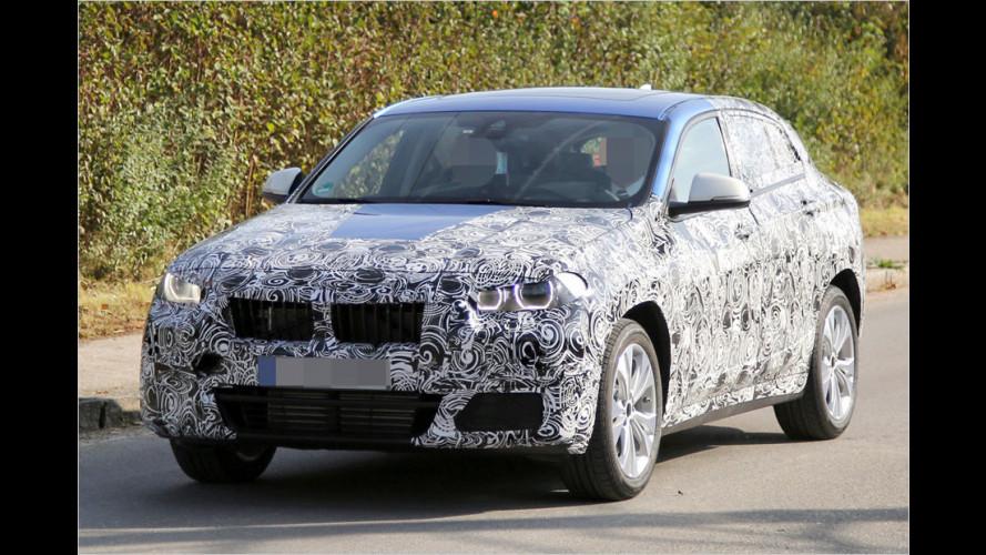 Erwischt: Hier fährt der BMW X2