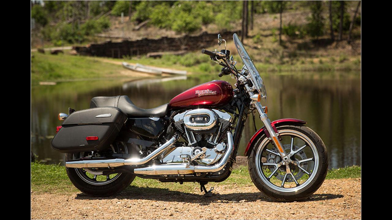 Platz 1: Harley-Davidson Sportster 1200, Durchschnittspreis gebraucht: 8.245 Euro