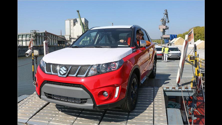 Wie kommen Suzuki-Fahrzeuge nach Deutschland?