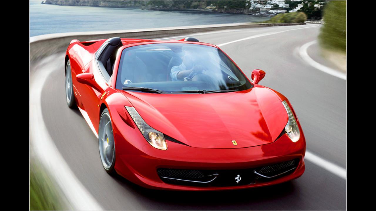 Ferrari 458 Spider: 320 km/h