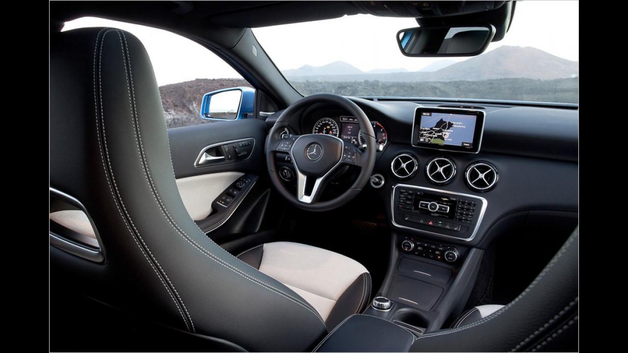 Basisausstattung: Mercedes A-Klasse